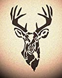 Deer Head Stencil Mylar Rustic Chic Animal Stencils