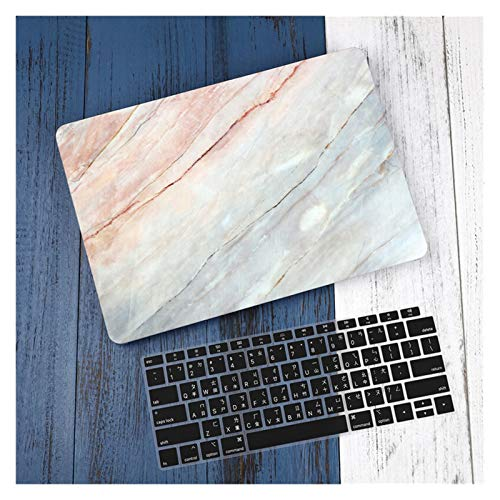 GZA Leather/Cloth Case for Macbook Air 13 A2338 M1 A2179 A2337 A1932 Pro 13 15 A2159 A1466 A1708 Hard Cover+Keyboard Cover (Color : J343, Size : Pro 13 2019 A2159)