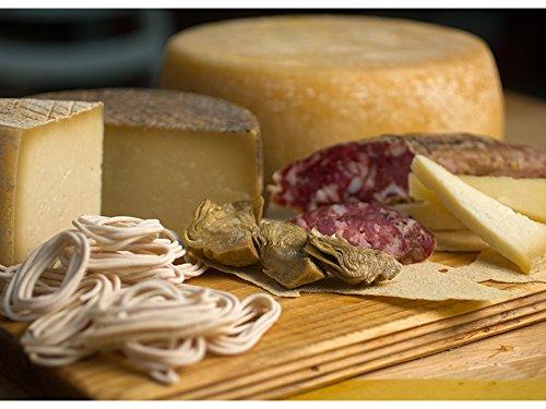 Selezione di formaggi sardi artigianali. Un kg di ognuna delle principali tipologie di formaggi di pecora e capra prodotti in Sardegna