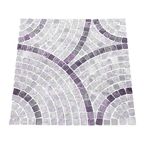 BOLORAMO Etiqueta engomada de los Azulejos, Etiqueta engomada Duradera desprendible de la Pared de 10Pcs para Floo del Sitio para la Sala