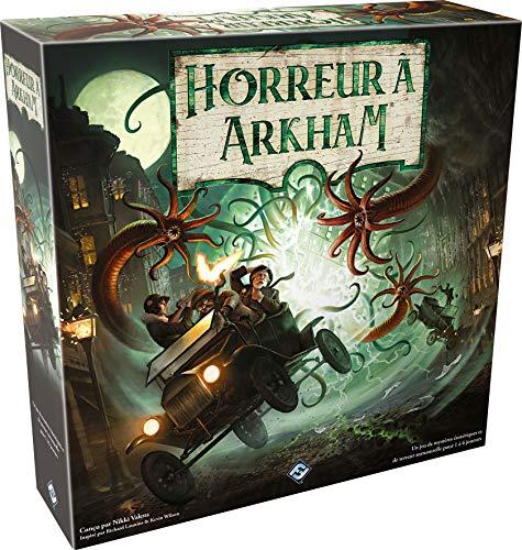Horreur à Arkham : Le Jeu de Plateau (3ème édition) - Asmodee - Jeu de société - Jeu d'aventures coopératif