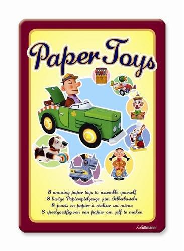 PAPER TOYS, 8 JOUETS EN PAPIER A REALISER SOI-MEME (JEUX DE PAPIER) (French Edition)