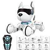 Remote Control Robot Dog, Children's Interactive Toys with Singing and Dancing, Teaching, Intelligent