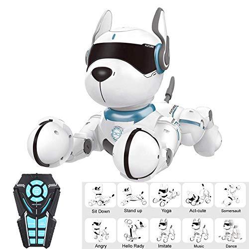 Robot Met Afstandsbediening Hond, Children's Interactief Speelgoed Met Zingen En Dansen, Onderwijzen, Intelligent Imitatie, Voice-Instructies, Programming, Funny Puppy