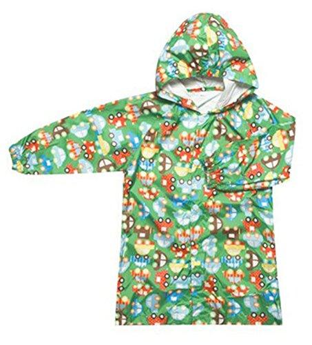 Korean Lovely bébé imperméable Mode enfants pluie Voiture bleue M