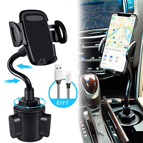 bokilino Car Cup Holder Phone Mount $12.98 (35% Off)