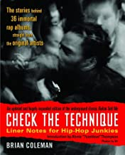 Check the Technique: Liner Notes for Hip-Hop Junkies (English Edition)
