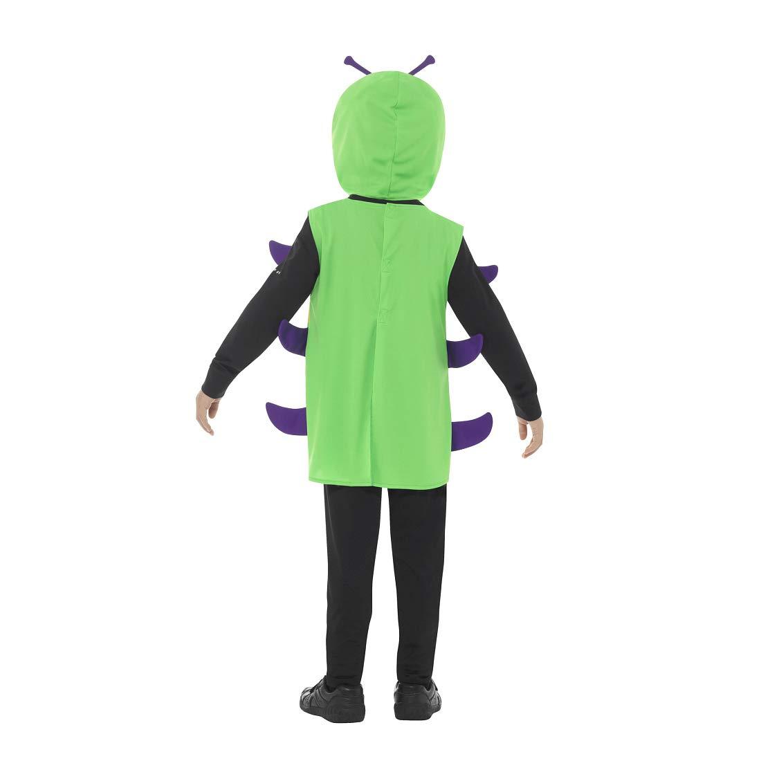 Amakando Encantador Disfraz Infantil Oruga glotona / Verde ...