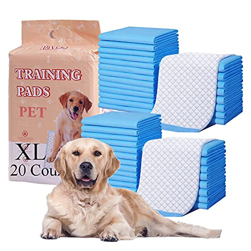Dog Training Pad, Pet Pee Pads Puppy Cat Potty Pads Leak-Proof Quick Dry Disposable Super Absorbent (XL)