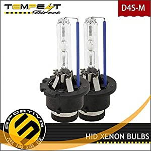 Sportiva HID Xenon D4S Replacement Bulbs Compatible for Lexus 2006 2007 2008 2009 2010 2011 2012 2013 2014 2015 IS250 Low Beam Factory Headlight HID Bulbs 6000K Pure White