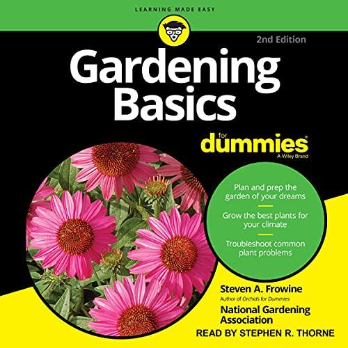 Gardening Basics for Dummies cover art