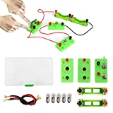 IS Circuit Learning Kit for Kids, Icstation Physics Science Entry Experiment DIY Project, Parallel Series Circuit Building, STEM Electric Education for Beginner Junior Senior Students
