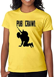 DanielDavis Gamer Fan The Pubg Crawl Master Custom Made Women's T-Shirt