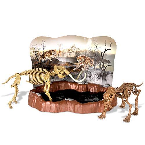 Geoworld - Kit de Excavacion en Slime con Tigre Dientes de S