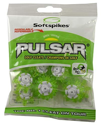 Soft Spikes Pulsar FTS 3.0 Slime/White, Standard