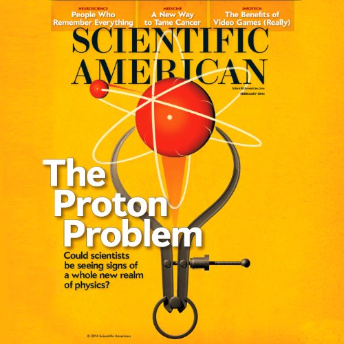 Scientific American, February 2014 audiobook cover art