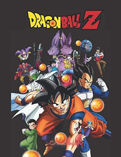 Dragonball Z malbuch: +50 EINFACHE UND HOCHWERTIGE ZEICHNUNG VON Dragonball Z