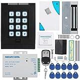 ドアエントリーシステムドアアクセスシステム電源キット180KG住宅用大容量の電気防錆金属アクセス