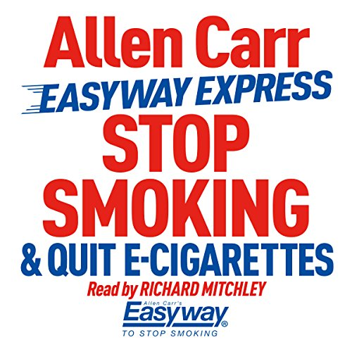 Stop Smoking and Quit E-Cigarettes                   By:                                                                                                                                 Allen Carr                               Narrated by:                                                                                                                                 Richard Mitchley                      Length: 3 hrs and 16 mins     95 ratings     Overall 4.8