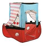 roba Spielzelt, Kinderzelt 'Piratenschiff', Spielschiff aus Stoff, inkl. Tasche