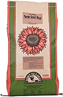 Down To Earth All Natural Fertilizers 1311 Fertilizer, 40 lb, Brown/A