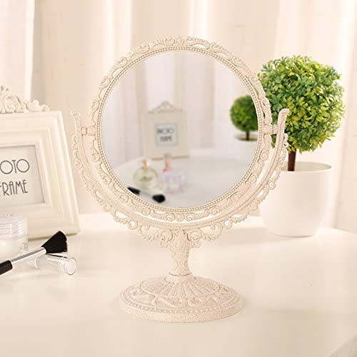 XPXKJ Mirror 7-Inch Tabletop Vanity Magnif 3X Makeup Washington Mall Milwaukee Mall with