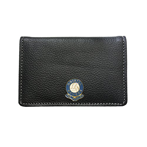 Bristol Rovers Football Club Leather Card Holder Wallet