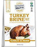 A JUICY, FLAVORFUL TURKEY STARTS WITH A GREAT BRINE - Brining adds moisture and flavor, yielding a tender and delicious turkey ORGANIC & KOSHER CERTIFIED - Garlic & Herb Turkey Brining Kit is Certified Organic and Kosher and does not contain any MSG,...