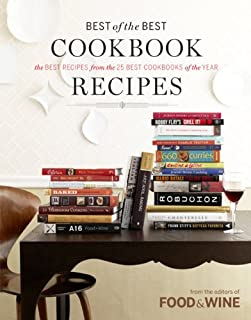 Food & Wine Best of the Best Cookbook Recipes