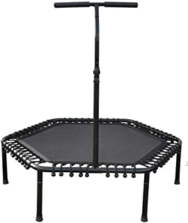 QYZHCP Trampoline, Adult Weight Loss Trampoline - Indoor Bounce Bed - Hand-held Spring Fitness Bungee Bed - Children Trampoline - Outdoor Home