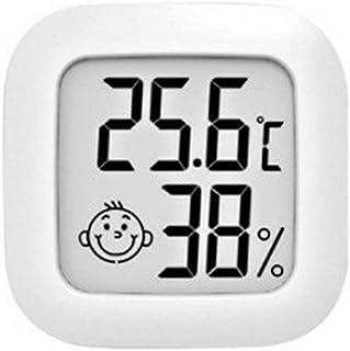 Pumprout Mini termometro da Interno Sensore di Temperatura LCD Digitale Misuratore di umidità Termometro Misuratore igrome...