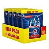 Finish Pastilles Lave-Vaisselle Powerball All in One Max - 150...