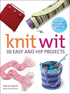 Knit Wit (Hands-Free Step-By-Step Guides)