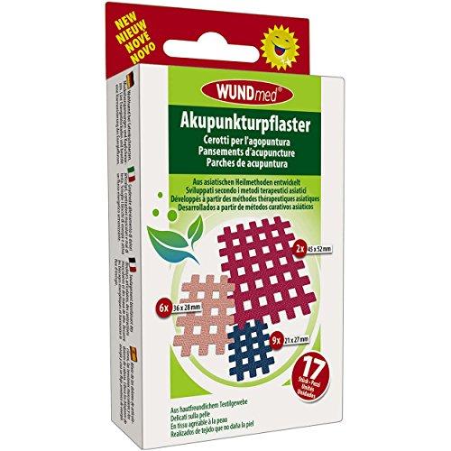 Wundmed 5er Vorteilspack Akupunkturpflaster, 5 Pack a 17 Stk. (85 Stk.)
