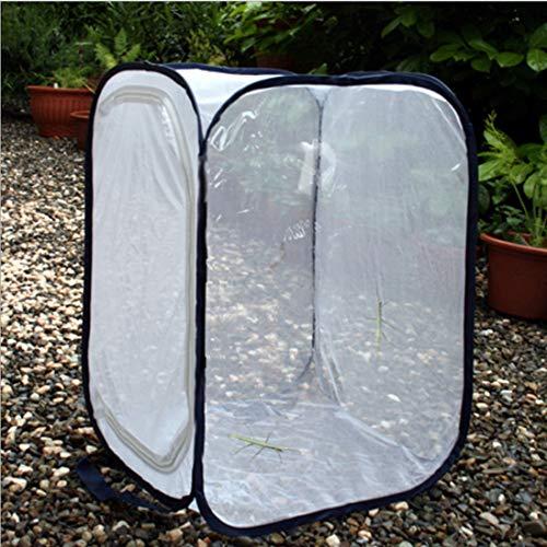 MYYINGELE Papillon Grand Habitat de Papillon Cage à Insectes Pliable Maille Terrarium Cage à Papillon Pop-Up pour Enfants, L