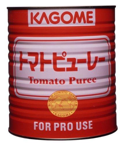 カゴメ トマトピューレー 1号缶×1個