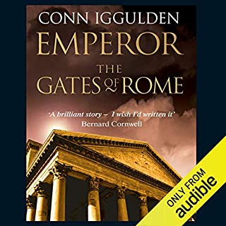 EMPEROR: The Gates of Rome, Book 1 (Unabridged) audiobook cover art