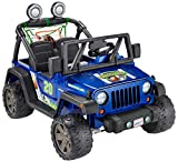 Power Wheels Gameday Jeep Wrangler Sports Themed Battery Powered Ride On Vehicle [Amazon Exclusive]