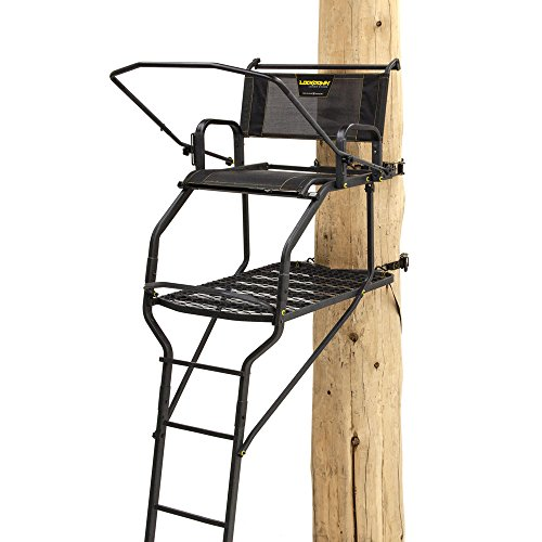 Rivers Edge One Man Ladder Stand, Lockdown Wide 1-Man