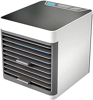 WSJTT 2019 Portátil USB Acondicionador De Aire De Escritorio Aire Acondicionado Conveniente Del USB Del Refrigerador De Aire Del Ventilador Digital Mini Humidificador De Aire Del Ventilador De Refrige