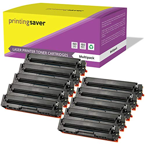 Printing Saver 10x Tóners compatibles para HP Color Laserjet Pro MFP M280NW, M281FDN, M281FDW, M254DW, M254NW impresoras