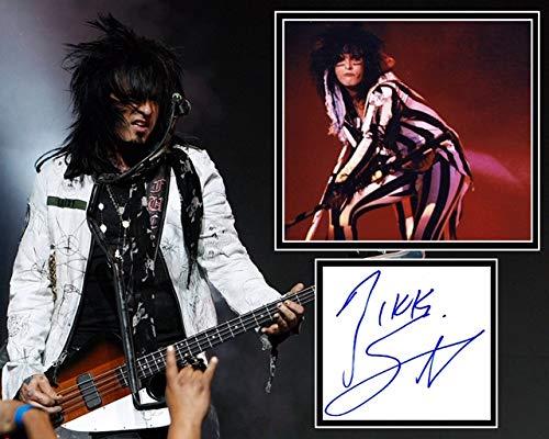 Autogramme von Nikki Sixx, Autogramm, Autogramm, Motley Crue, Home Sweet Home, UACC Registered #242