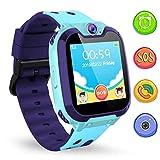 Kinder SmartWatch Digital Watch with Games SOS and 1.44 inch Touch LCD for Jungen und Mädchen Birthday