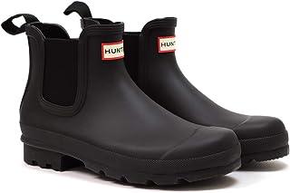 [ハンター] メンズ オリジナル チェルシー ブーツ ブラック MENS ORIGINAL CHELSEA BOOTS MFS9116RMA BLACK
