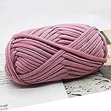 100 g de hilo Fancy para tejer a mano grueso, hilo de ganchillo, bolso de mano, alfombra, cojín de algodón