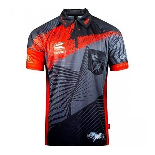 "Target New for 2017/18 COOL PLAY Undisputed Phil Taylor Authentic Replica Shirt (Small (Chest 40""))"