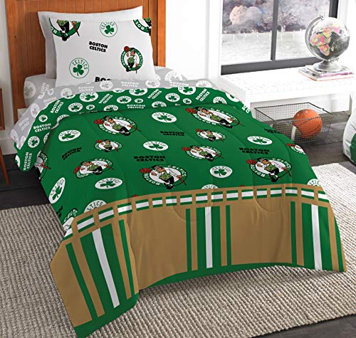Northwest NBA Boston Celtics Twin Bed in a Bag Complete Bedding Set #210040237