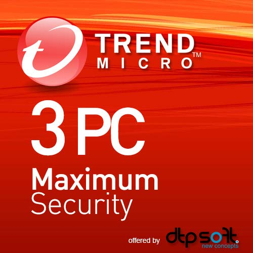 Trend Micro Maximum Security 2019 | 3 PC | 1 Jahre | Download I Mobile Game Zombie Bar
