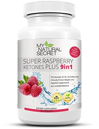 Super Raspberry Ketone Plus – Der MyNaturalSecret Bestseller Verbesserte 9in1 Formel mit 100{4fe78d31ad77a0624072808565ed75847c92fda6e10c350939506d5fe9b4dcf6} purem Himbeer Keton Pulver