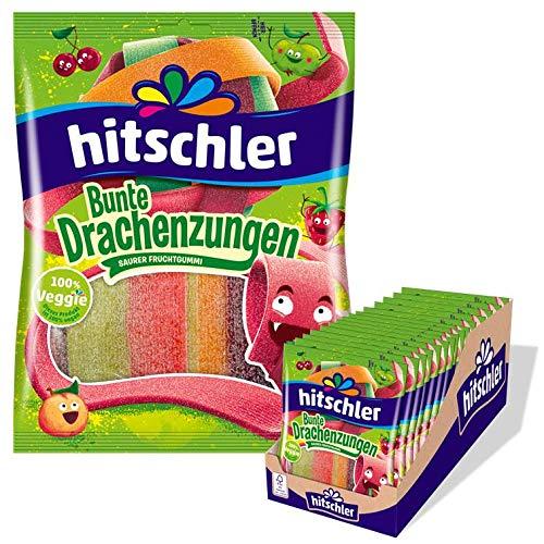 Hitschler - Bunte Drachenzungen (sauer) - 20 x 125g